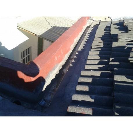 Impermeabilización canal tejado